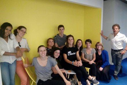 Photo des participants à la formation
